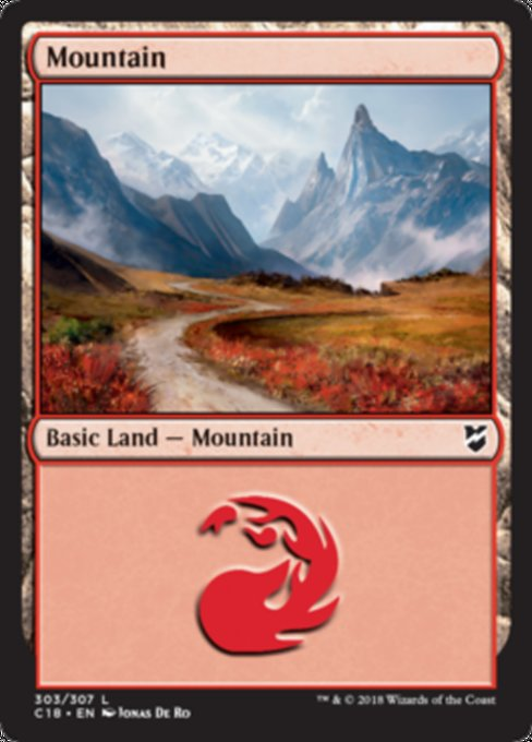 Mountain [Commander 2018]