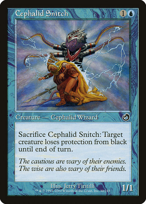 Cephalid Snitch [Torment]