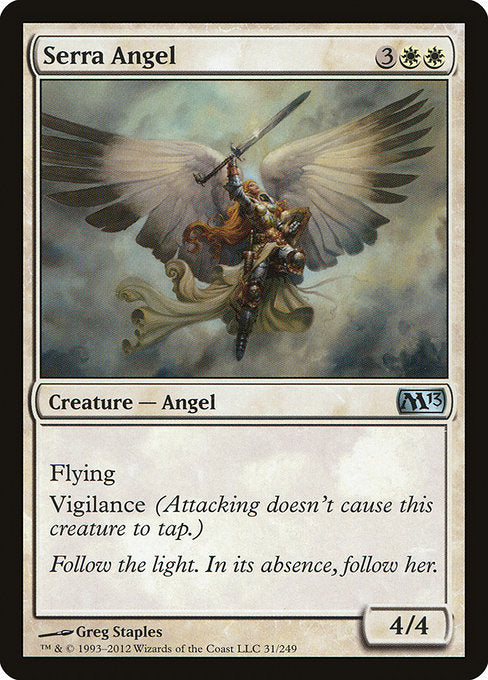 Serra Angel [Magic 2013] | Guf