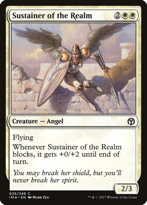Sustainer of the Realm [Iconic Masters] | Guf