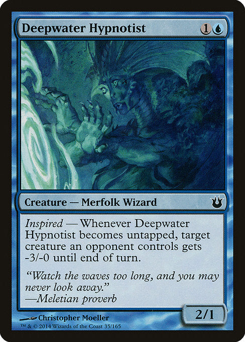 Deepwater Hypnotist [Born of the Gods] | Guf