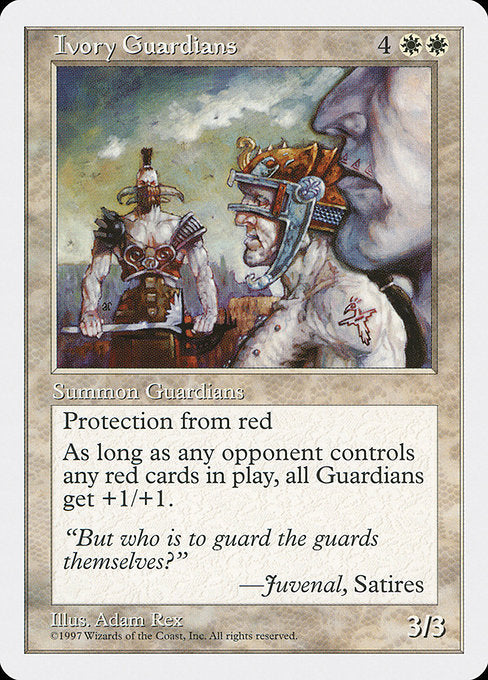 Ivory Guardians [Fifth Edition] | Guf
