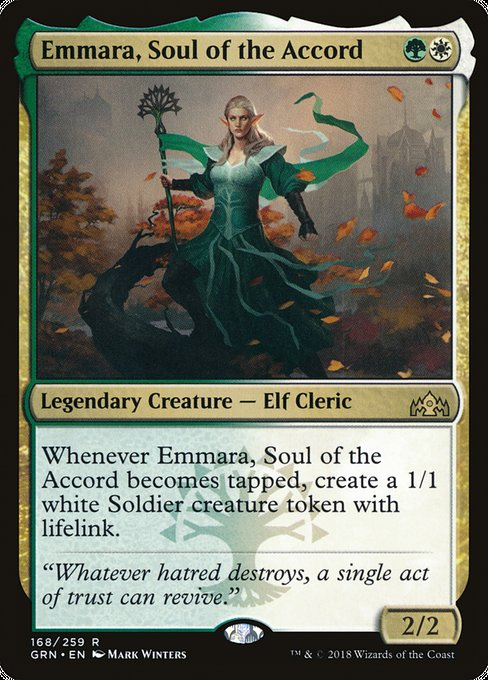 Emmara, Soul of the Accord [Guilds of Ravnica]