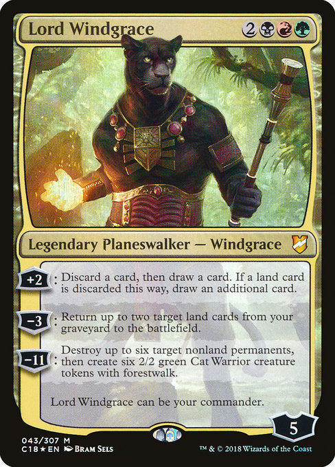 Lord Windgrace [Commander 2018] | Guf