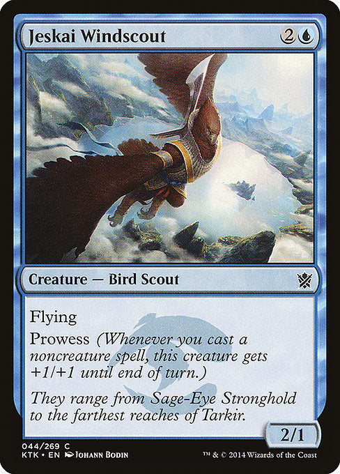 Jeskai Windscout [Khans of Tarkir] | Guf