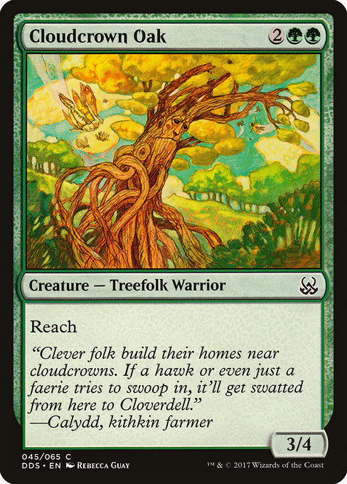 Cloudcrown Oak [Duel Decks: Mind vs. Might]