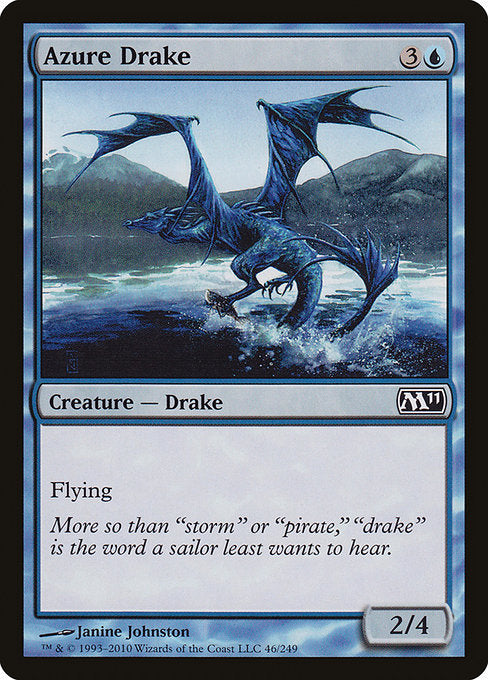 Azure Drake [Magic 2011]
