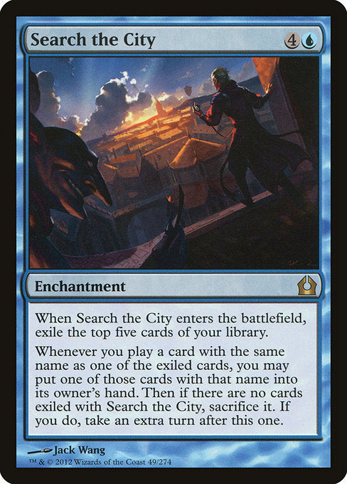 Search the City [Return to Ravnica] | Guf