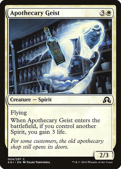 Apothecary Geist [Shadows over Innistrad]
