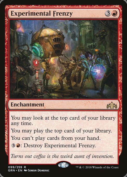 Experimental Frenzy [Guilds of Ravnica] | Guf