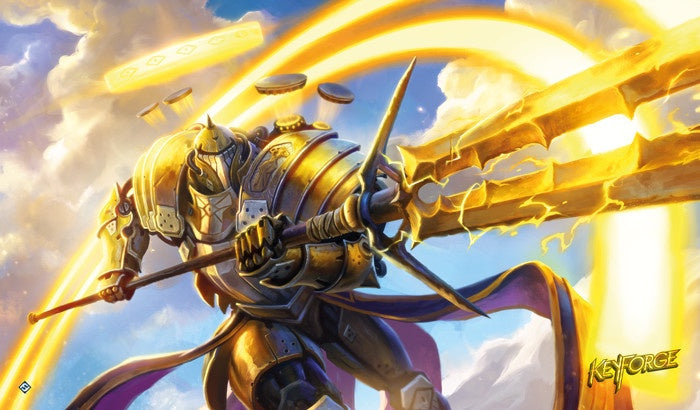 KeyForge Call of the Archons! Raiding Knight Playmat