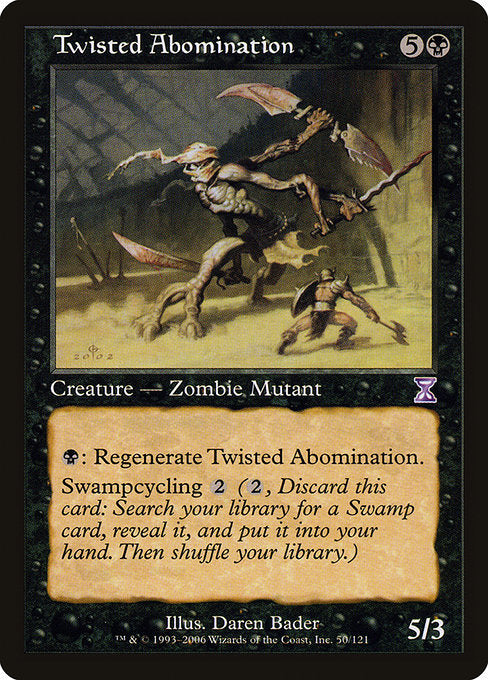 Twisted Abomination [Time Spiral Timeshifted] | Guf