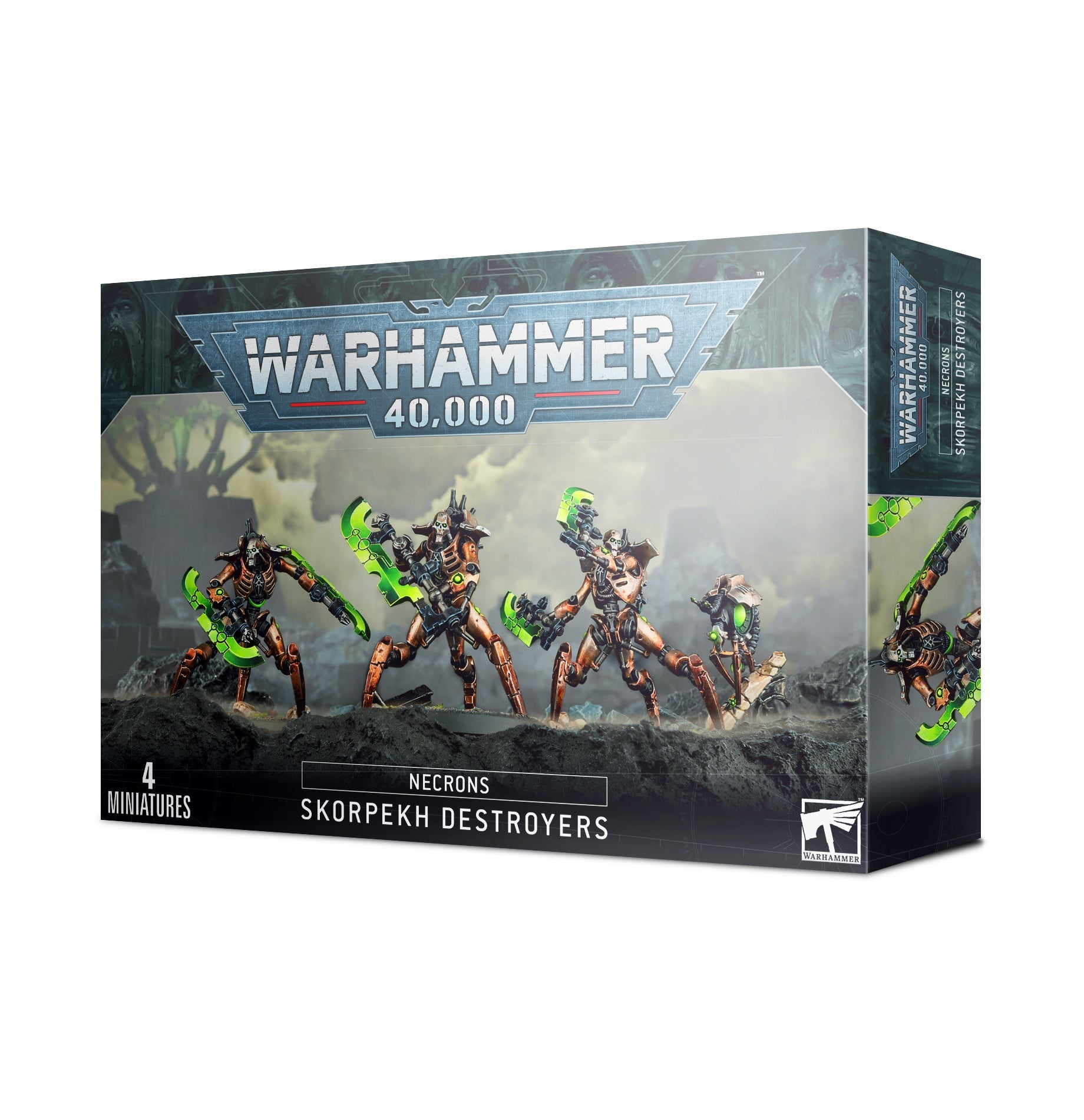 49-31 NECRONS SKORPEKH DESTROYERS | Guf