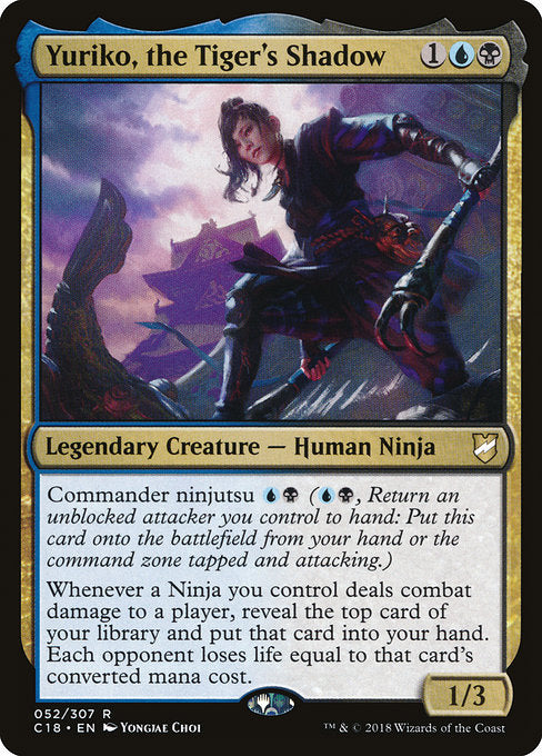 Yuriko, the Tiger's Shadow [Commander 2018] | Guf