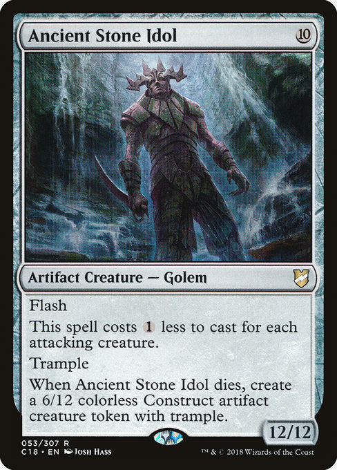 Ancient Stone Idol [Commander 2018]