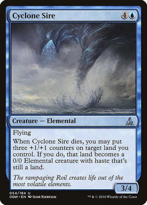 Cyclone Sire [Oath of the Gatewatch]