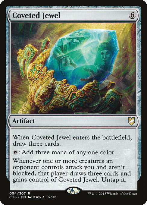 Coveted Jewel [Commander 2018] | Guf