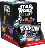 Star Wars Destiny TCDG: Spirit of Rebellion Booster display