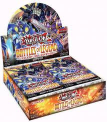 Yu-Gi-Oh! - Battles of Legend: Relentless Revenge Booster Display