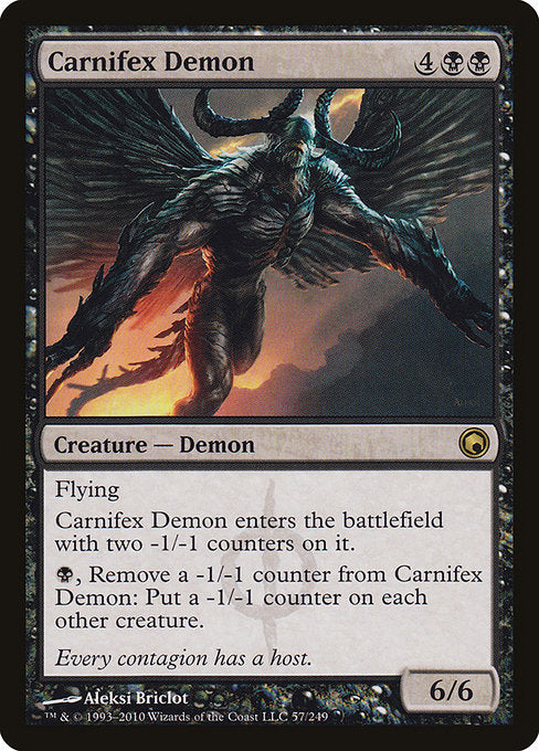 Carnifex Demon [Scars of Mirrodin] | Guf