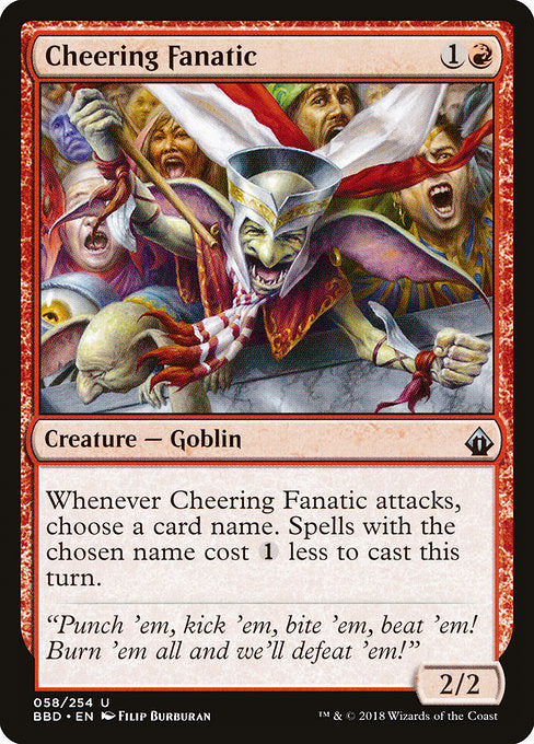 Cheering Fanatic [Battlebond] | Guf