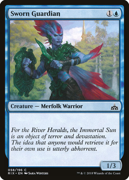 Sworn Guardian [Rivals of Ixalan] | Guf