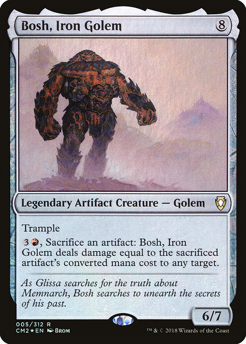 Bosh, Iron Golem [Commander Anthology Volume II]