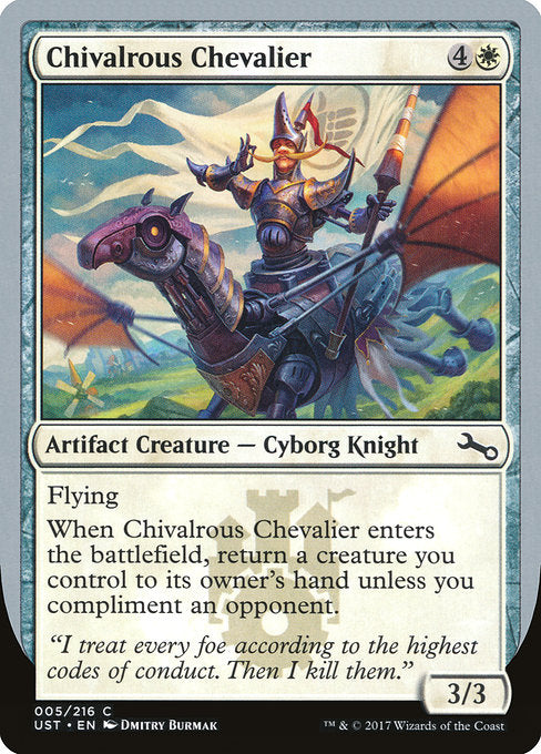 Chivalrous Chevalier [Unstable]
