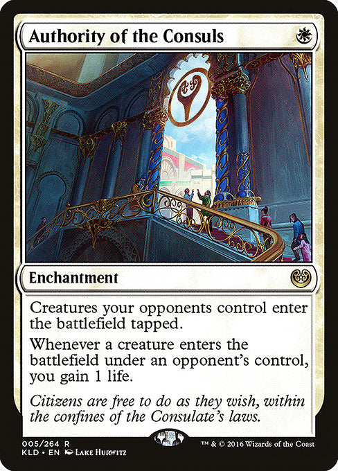 Authority of the Consuls [Kaladesh]