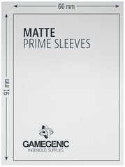 Gamegenic Matt Prime Card Sleeves Pink (66mm x 91mm) (100 Sleeves Per Pack) | Guf