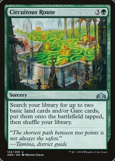 Circuitous Route [Guilds of Ravnica]