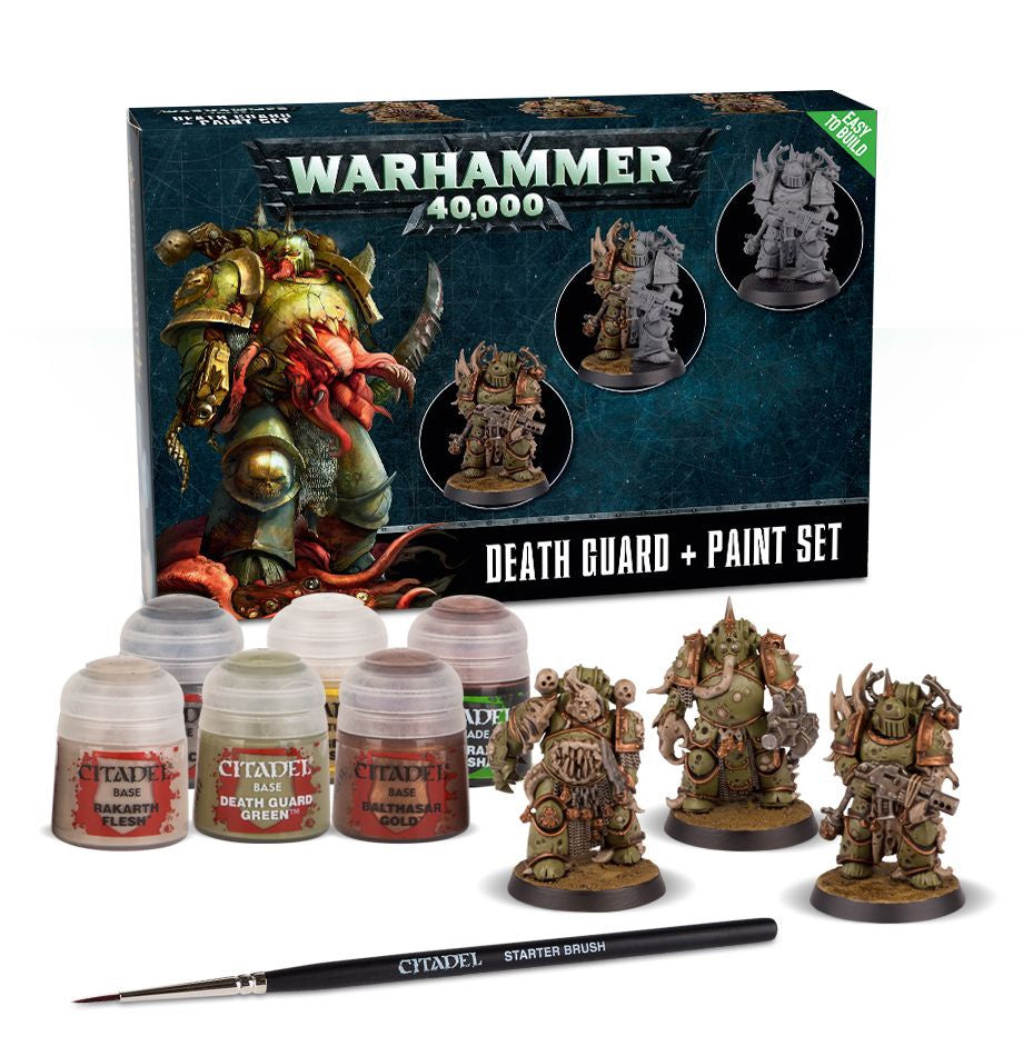 60-27 Death Guard Paint Set+