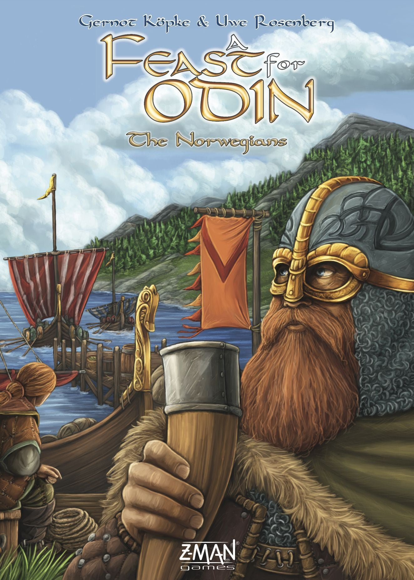 A Feast for Odin the Norwegians Expansion | Guf