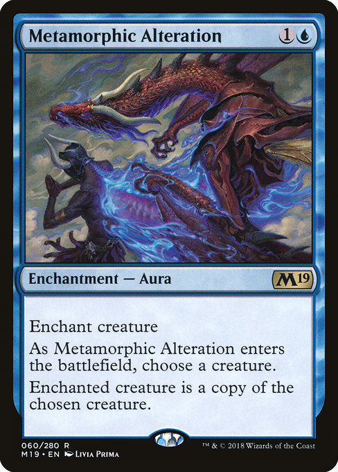 Metamorphic Alteration [Core Set 2019] | Guf