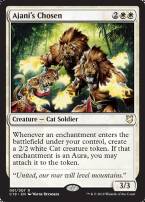 Ajani's Chosen [Commander 2018]