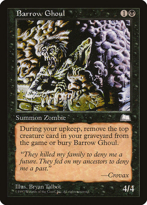 Barrow Ghoul [Weatherlight] | Guf
