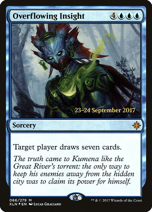 Overflowing Insight [Ixalan Promos] | Guf