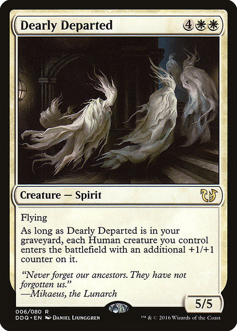 Dearly Departed [Duel Decks: Blessed vs. Cursed] | Guf