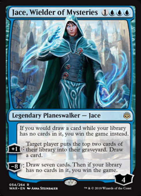 Jace, Wielder of Mysteries [War of the Spark] | Guf