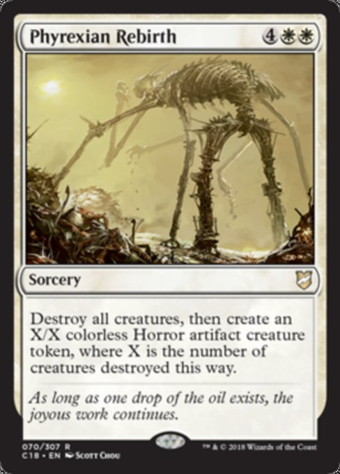 Phyrexian Rebirth [Commander 2018]