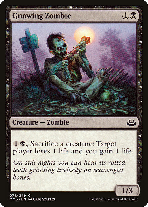 Gnawing Zombie [Modern Masters 2017] | Guf