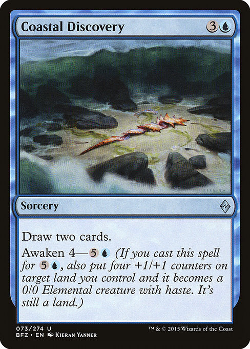 Coastal Discovery [Battle for Zendikar] | Guf