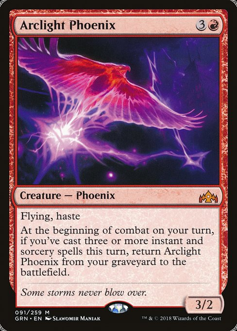 Arclight Phoenix [Guilds of Ravnica]