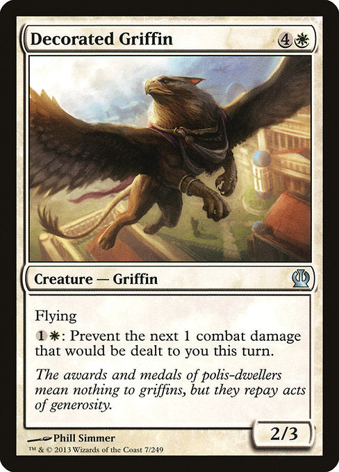 Decorated Griffin [Theros]