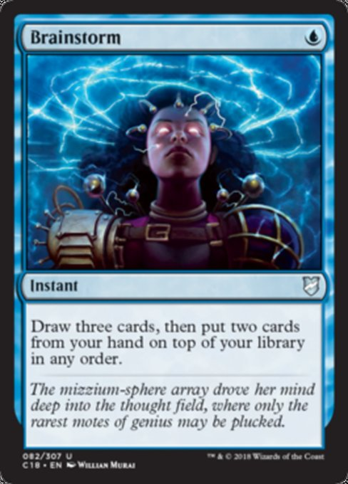 Brainstorm [Commander 2018]