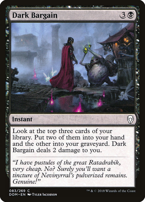 Dark Bargain [Dominaria]