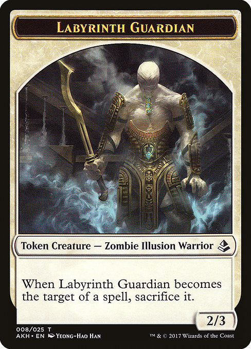 Labyrinth Guardian Token [Amonkhet Tokens] | Guf