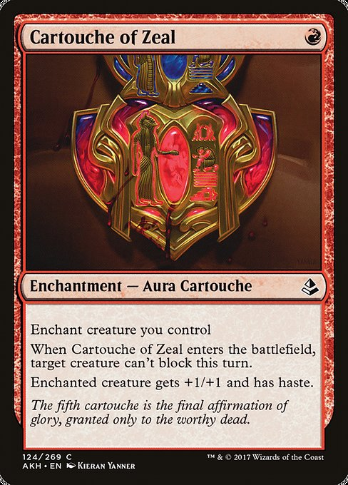 Cartouche of Zeal [Amonkhet] | Guf