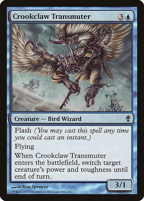 Crookclaw Transmuter [Conspiracy]