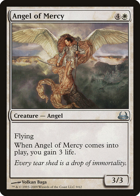 Angel of Mercy [Duel Decks: Divine vs. Demonic]